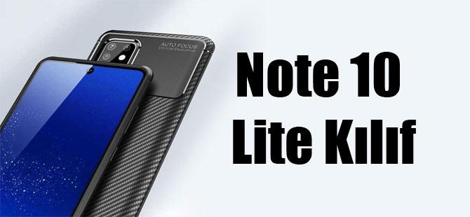 Note 10 Lite Kılıf