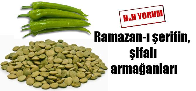 Ramazan-ı şerifin, şifalı armağanları