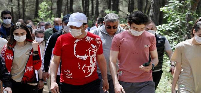 İmamoğlu, Atatürk Kent Ormanı'nı hizmete açtı!