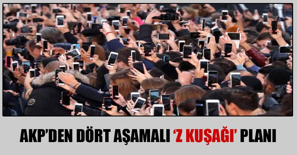 AKP'den dört aşamalı 'Z kuşağı' planı