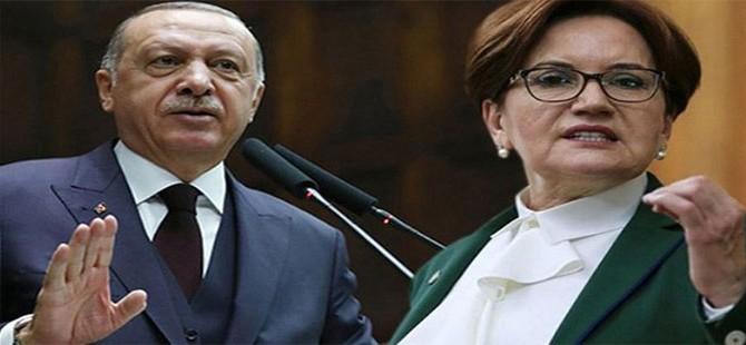 Erdoğan'dan Akşener'e: Bir kadın olması hasebiyle daha ileri gidecek değilim ama