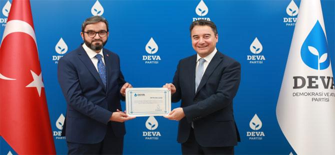 DEVA Partisi ilk il başkanını açıkladı
