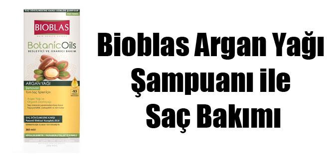 Bioblas Argan Yağı Şampuanı ile Saç Bakımı