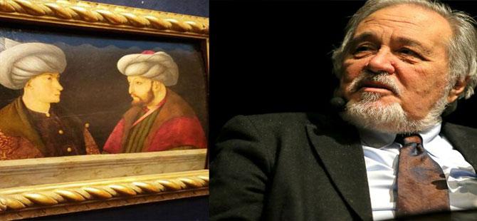 İlber Ortaylı, portrede Fatih Sultan Mehmet'in karşısındaki ismi açıkladı