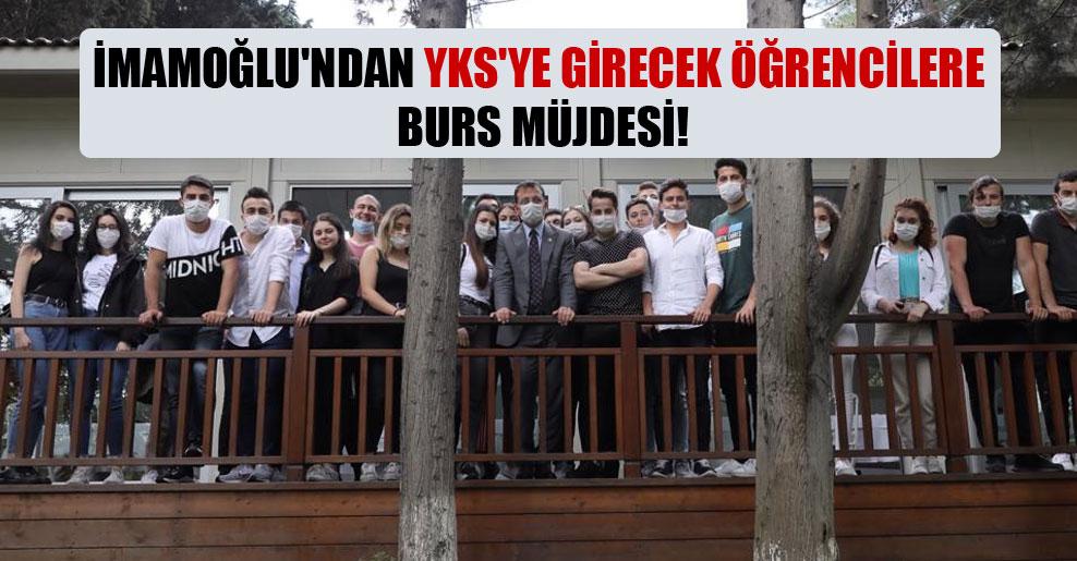 İmamoğlu'ndan YKS'ye girecek öğrencilere burs müjdesi!