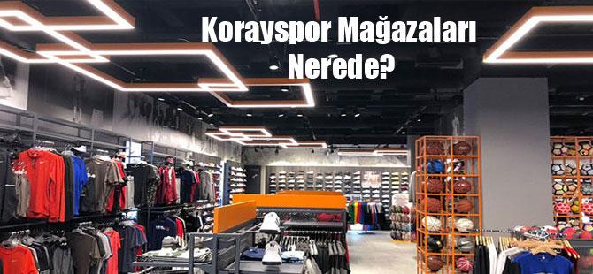 Korayspor Mağazaları Nerede?