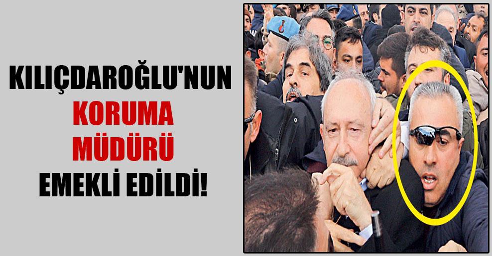 Kılıçdaroğlu'nun koruma müdürü emekli edildi!