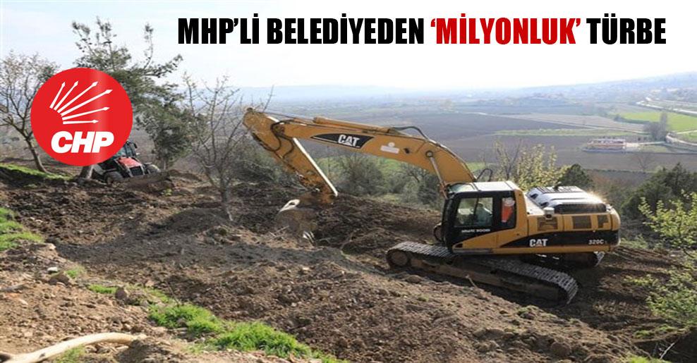 MHP'li belediyeden 'milyonluk' türbe