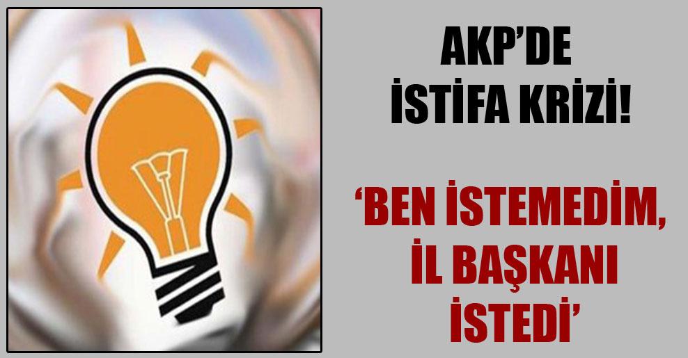 AKP'de istifa krizi!