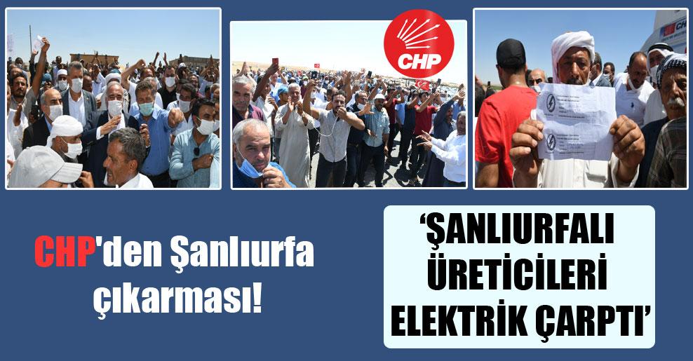 CHP'den Şanlıurfa çıkarması!