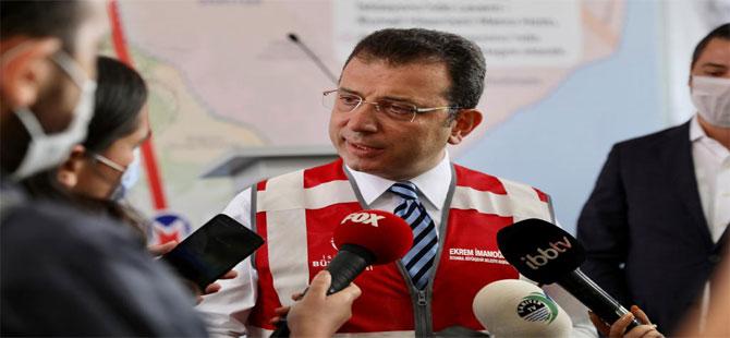 İmamoğlu: Kanal İstanbul, bir avuç insan için çok önemli!