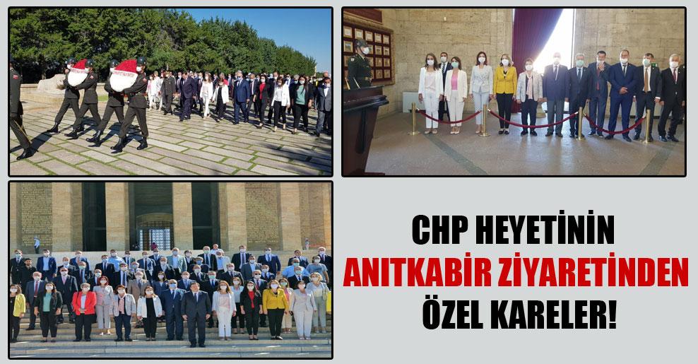 CHP heyetinin Anıtkabir ziyaretinden özel kareler!