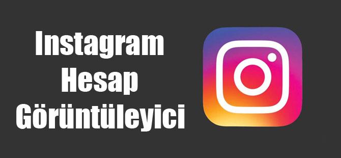 Instagram Hesap Görüntüleyici