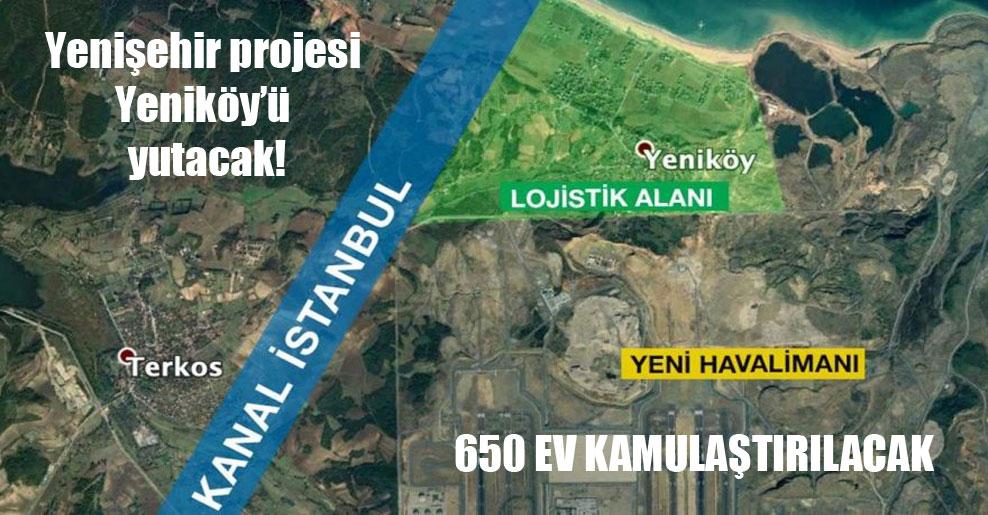 Yenişehir projesi Yeniköy'ü yutacak!