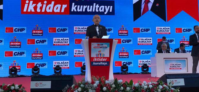 37. kurultayın tek adayı Kılıçdaroğlu!