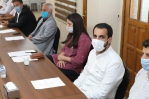 Mehmet Salih Saraç toplantıda 2