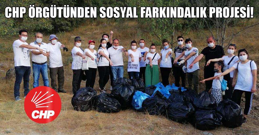 CHP örgütünden sosyal farkındalık projesi!