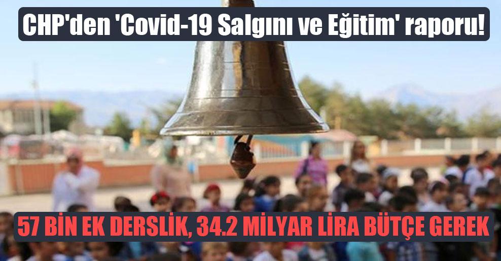 CHP'den 'Covid-19 Salgını ve Eğitim' raporu!