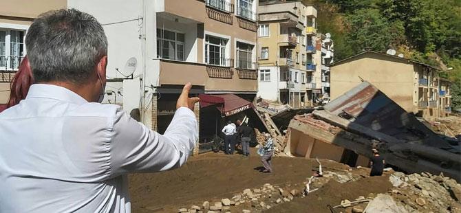 Giresun'daki sel felaketinde kaybolan iki kişinin daha cansız bedeni bulundu