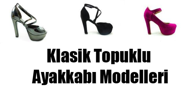 Klasik Topuklu Ayakkabı Modelleri
