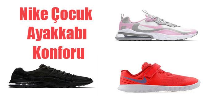 Nike Çocuk Ayakkabı Konforu