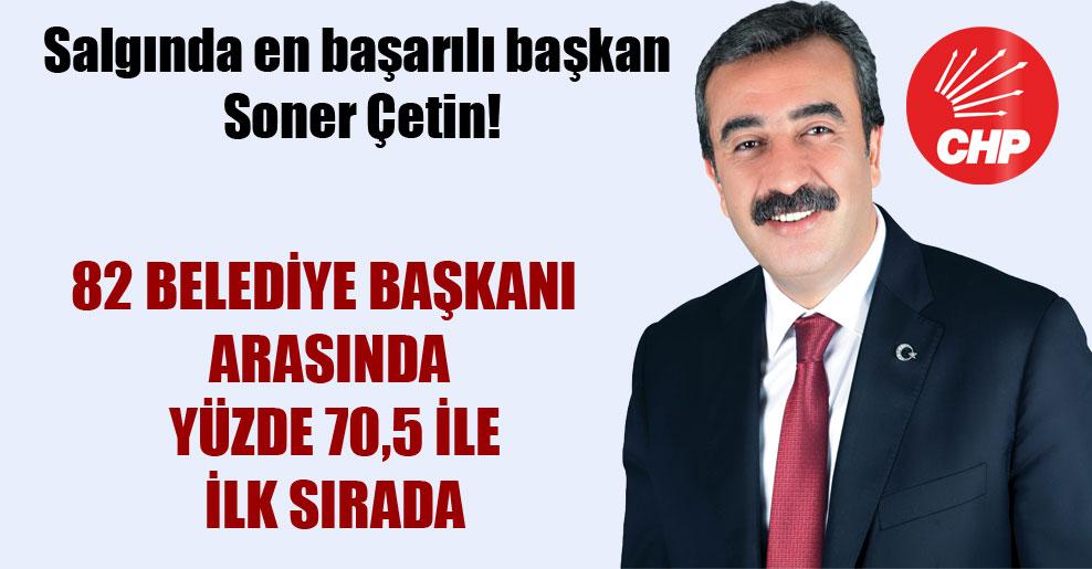 Salgında en başarılı başkan Soner Çetin!