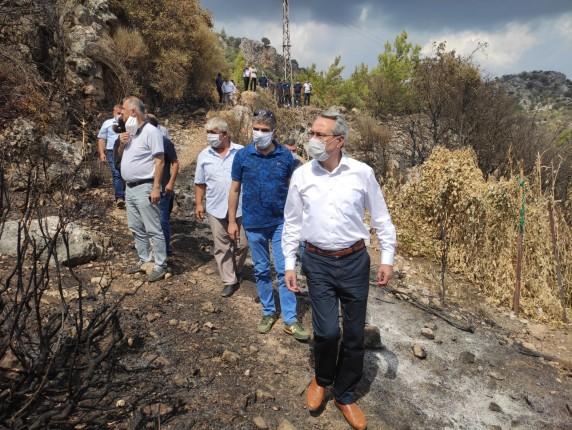 Adrasan Orman Yangını 5 20.09.2020