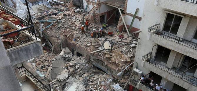 Beyrut'taki patlama: Nabız duyulan enkazda 'yaşam işareti yok'