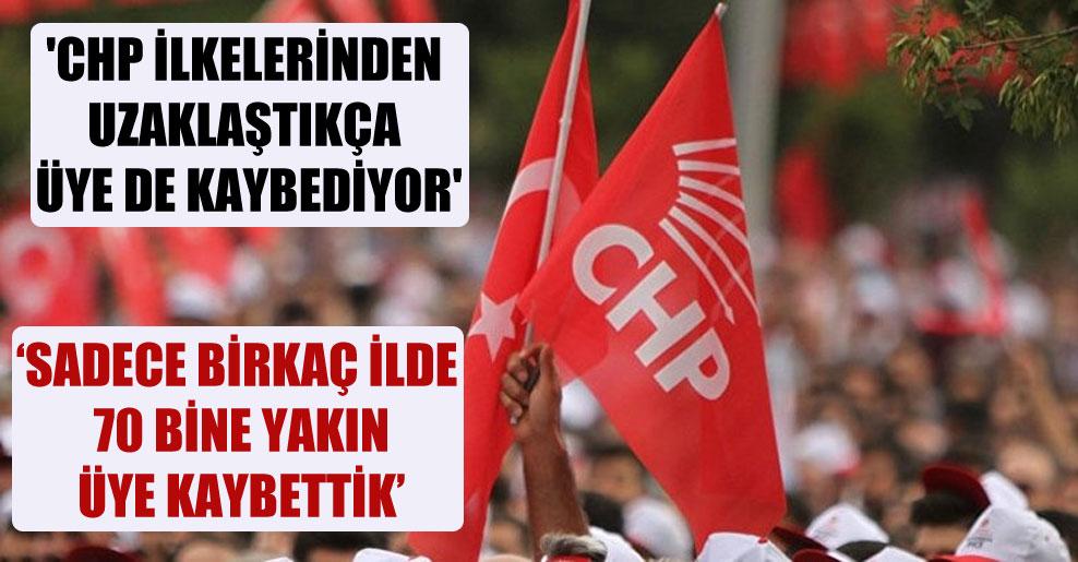 'CHP ilkelerinden uzaklaştıkça üye de kaybediyor'