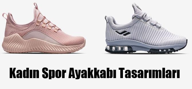 Kadın Spor Ayakkabı Tasarımları
