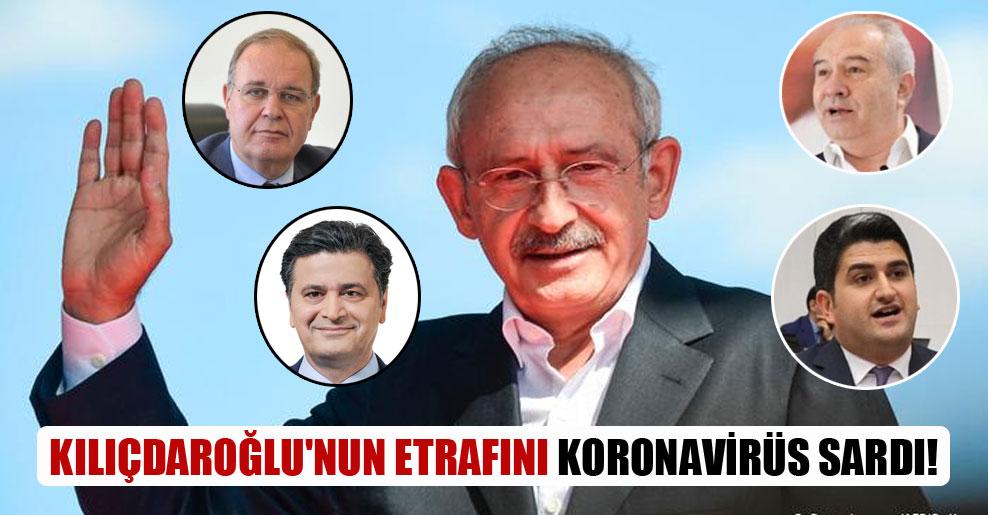 Kılıçdaroğlu'nun etrafını koronavirüs sardı!