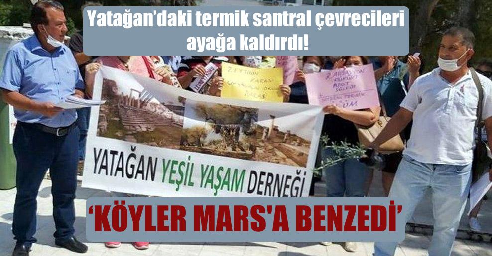 Yatağan'daki termik santral çevrecileri ayağa kaldırdı!