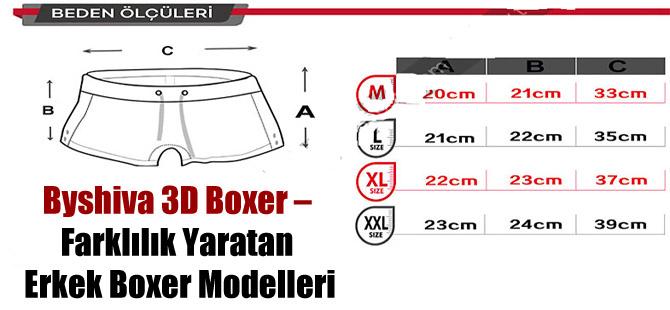 Byshiva 3D Boxer – Farklılık Yaratan Erkek Boxer Modelleri