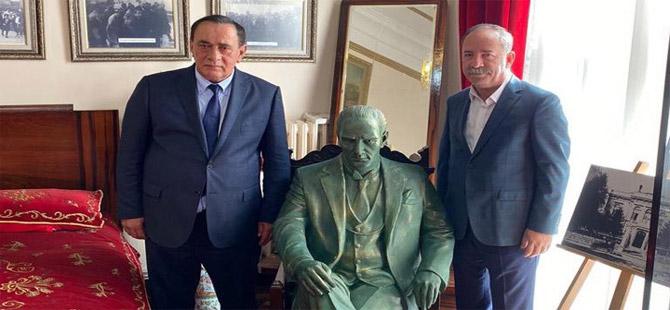 Alaattin Çakıcı, CHP'li Başkan Recep Gürkan'ı ziyaret etti!
