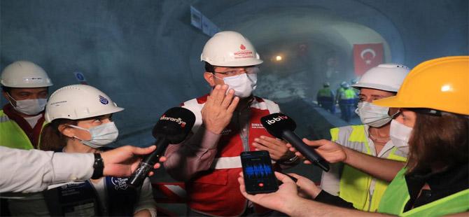İmamoğlu yerin 42 metre altında konuştu: Metro kredileri için iyi sinyaller alıyoruz
