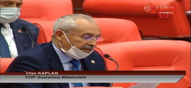 CHP'li Kaplan: Sarayın talimatıyla çalışan yerel mahkeme hukuku katletmiştir!