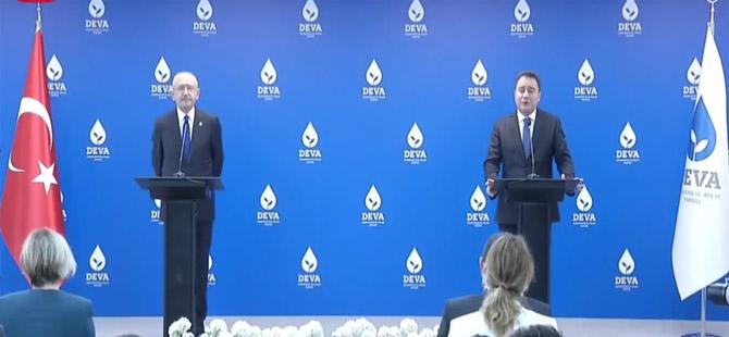 Kılıçdaroğlu ve Babacan'dan Cumhurbaşkanı Erdoğan'a 'mümin' yanıtı