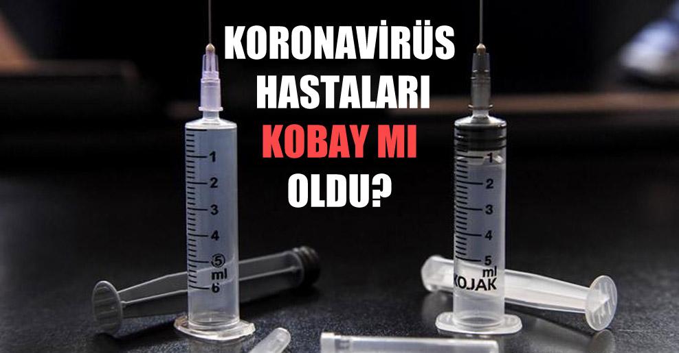 Koronavirüs hastaları kobay mı oldu?