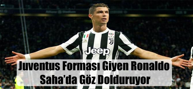 Juventus Forması Giyen Ronaldo Saha'da Göz Dolduruyor