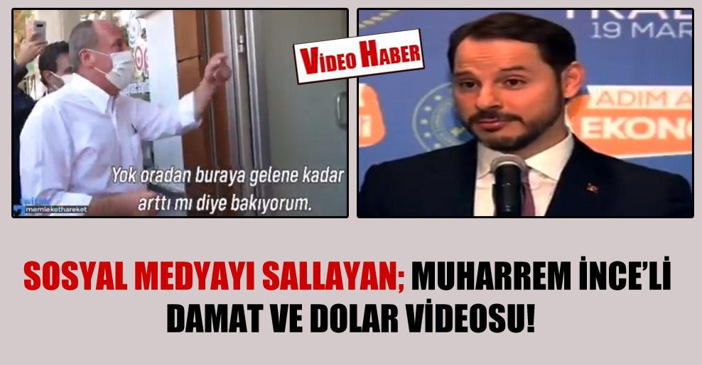 Sosyal medyayı sallayan; Muharrem İnce'li damat ve dolar videosu!