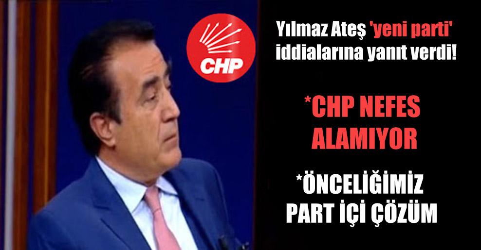 Yılmaz Ateş 'yeni parti' iddialarına yanıt verdi!