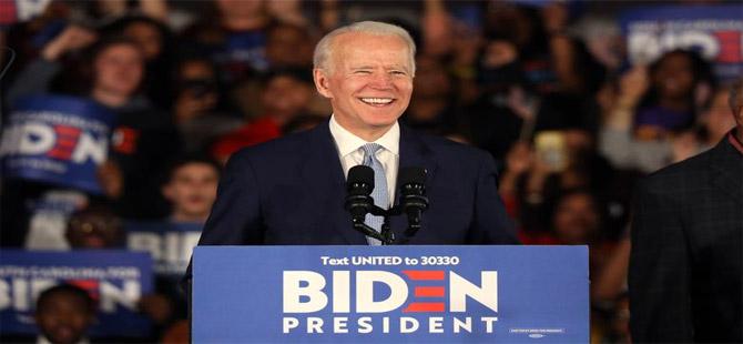 Biden'dan zafer ilanı: Büyük ülkemize liderlik etmem için beni seçmenizden onur duyuyorum