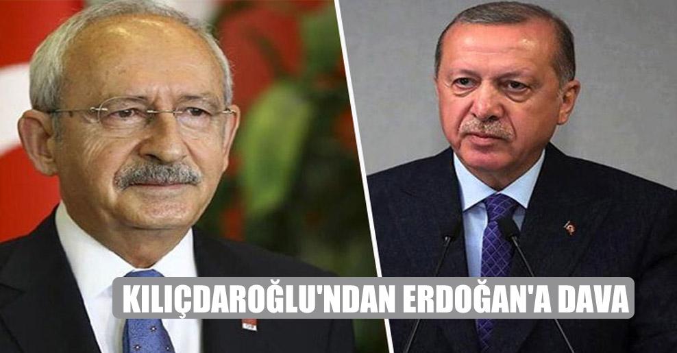 Kılıçdaroğlu'ndan Erdoğan'a dava