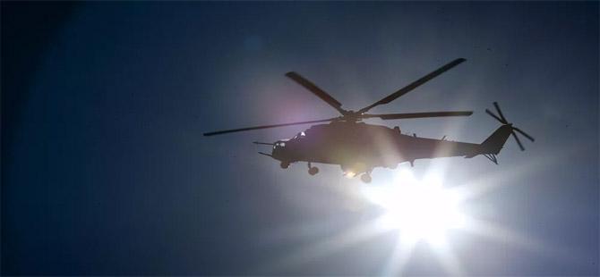 Rusya'ya ait helikopter Ermenistan tarafından düşürüldü