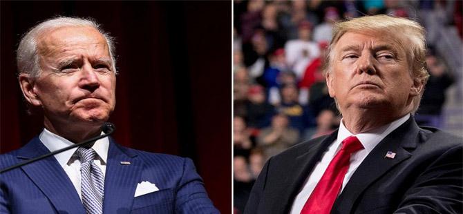 Trump'la Biden arasında yeni sürtüşme!