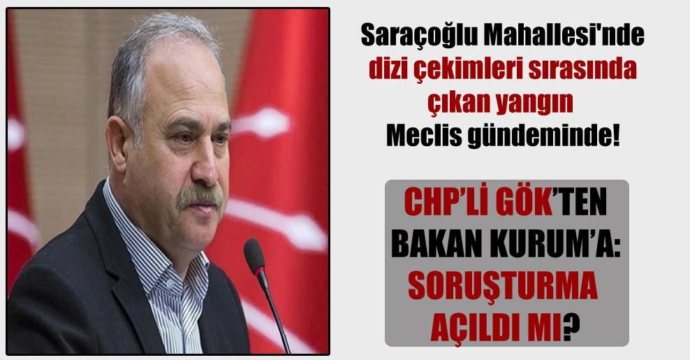 Saraçoğlu Mahallesi'nde dizi çekimleri sırasında çıkan yangın Meclis gündeminde!
