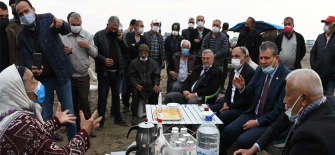 CHP'li Barut: Çiftçi, yetiştirici ve balıkçılarımızın yanındayız