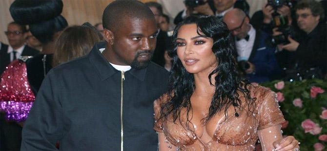 Kim Kardashian, eşi Kanye West'ten boşanmak için dava açtı