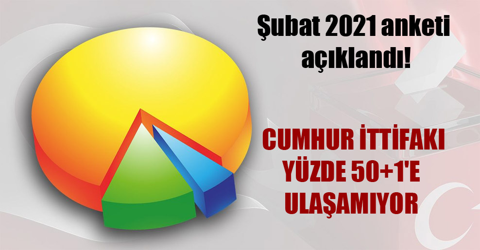 Şubat 2021 anketi açıklandı!
