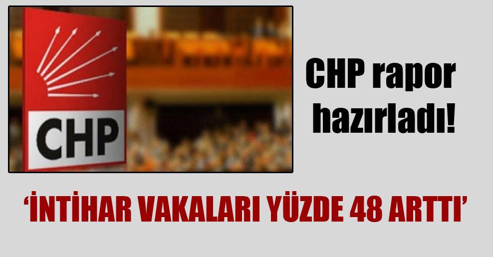 CHP rapor hazırladı: İntihar vakaları yüzde 48 arttı